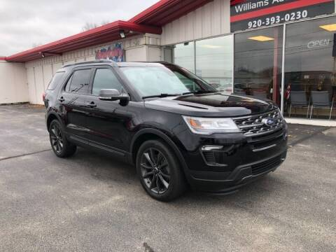 2018 Ford Explorer for sale at WILLIAMS AUTO SALES in Green Bay WI
