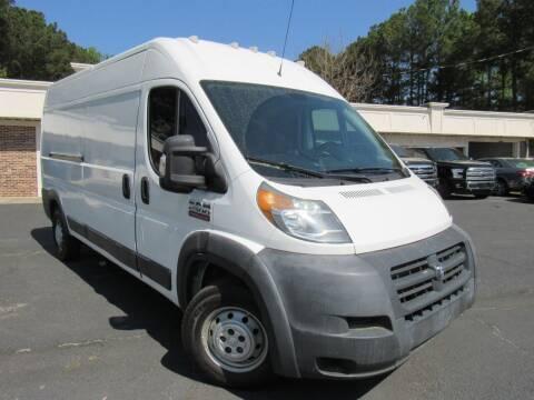2014 RAM ProMaster Cargo for sale at North Georgia Auto Brokers in Snellville GA