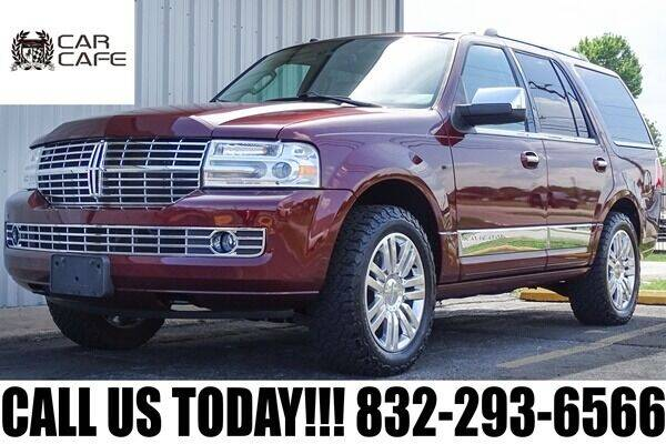 2012 Lincoln Navigator for sale at CAR CAFE LLC in Houston TX