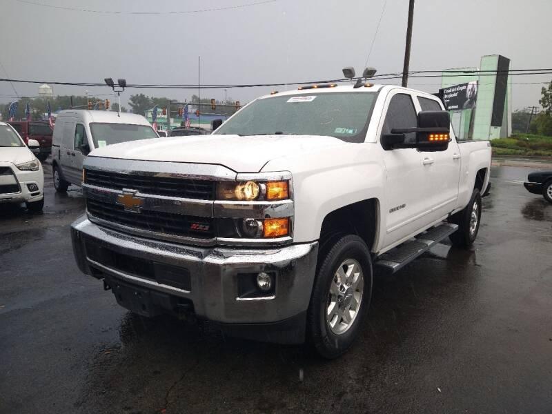 2015 Chevrolet Silverado 2500HD for sale at P J McCafferty Inc in Langhorne PA