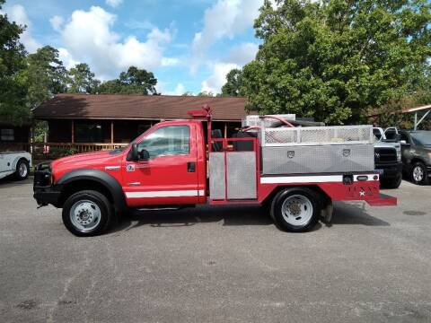 2006 Ford F-550 Super Duty for sale at Victory Motor Company in Conroe TX