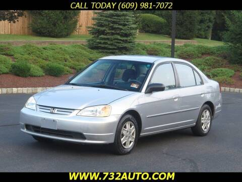 2003 Honda Civic for sale at Absolute Auto Solutions in Hamilton NJ