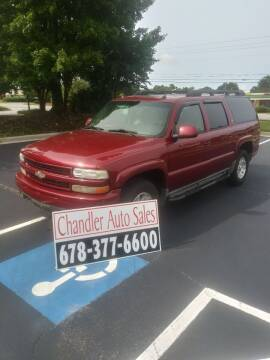 2005 Chevrolet Suburban for sale at Chandler Auto Sales - ABC Rent A Car in Lawrenceville GA