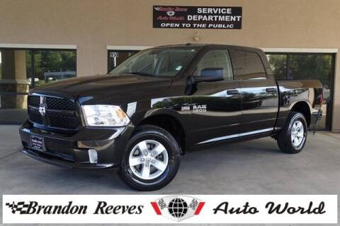 2017 RAM Ram Pickup 1500 for sale at Brandon Reeves Auto World in Monroe NC
