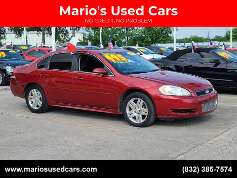 2014 Chevrolet Impala Limited for sale at Mario's Used Cars - South Houston Location in South Houston TX