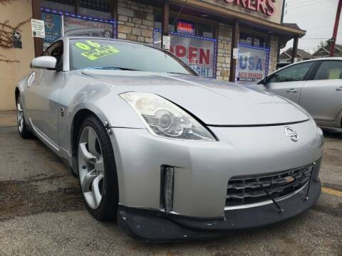 2006 Nissan 350Z for sale at USA Auto Brokers in Houston TX