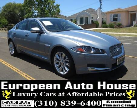 2013 Jaguar XF for sale at European Auto House in Los Angeles CA