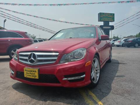 2013 Mercedes-Benz C-Class for sale at Pasadena Auto Planet in Houston TX