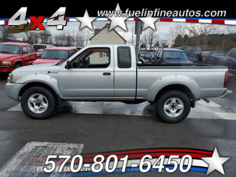 2002 Nissan Frontier for sale at FUELIN FINE AUTO SALES INC in Saylorsburg PA