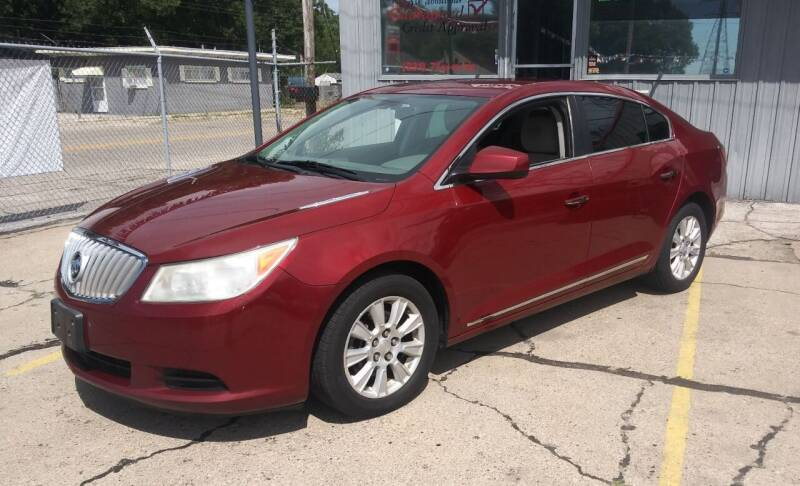 2010 Buick LaCrosse for sale at Wicked Motorsports in Muskegon MI