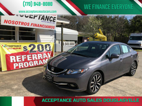 2014 Honda Civic for sale at Acceptance Auto Sales Douglasville in Douglasville GA