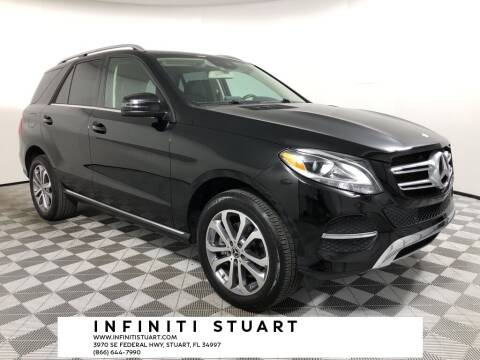 2017 Mercedes-Benz GLE for sale at Infiniti Stuart in Stuart FL