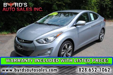 2015 Hyundai Elantra for sale at Byrds Auto Sales in Marion NC