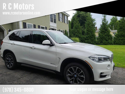 2018 BMW X5 for sale at R C Motors in Lunenburg MA