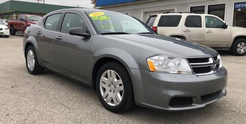2012 Dodge Avenger for sale at Perrys Certified Auto Exchange in Washington IN