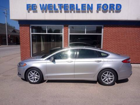 2014 Ford Fusion for sale at Welterlen Motors in Edgewood IA