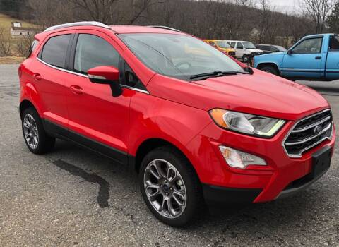 2019 Ford EcoSport for sale at Hoys Used Cars in Cressona PA