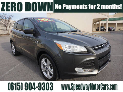 2016 Ford Escape for sale at Speedway Motors in Murfreesboro TN