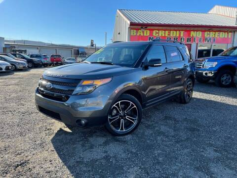 2015 Ford Explorer for sale at Yaktown Motors in Union Gap WA
