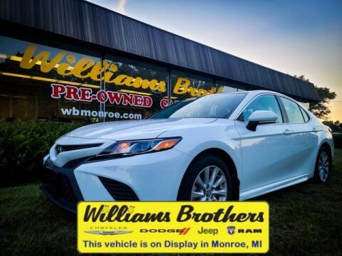 2020 Toyota Camry for sale at Williams Brothers - Pre-Owned Monroe in Monroe MI