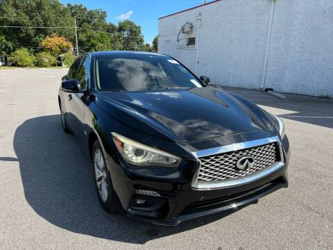 2018 Infiniti Q50 for sale at LUXURY AUTO MALL in Tampa FL