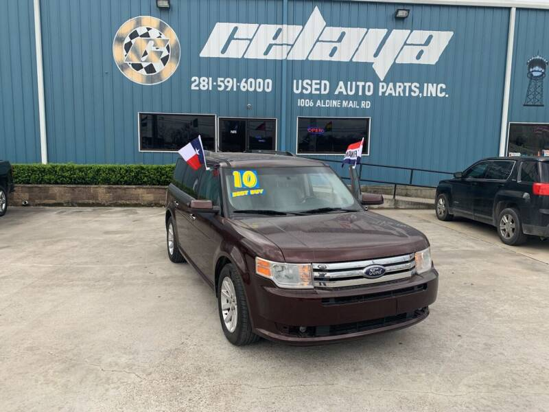 2010 Ford Flex for sale at CELAYA AUTO SALES INC in Houston TX