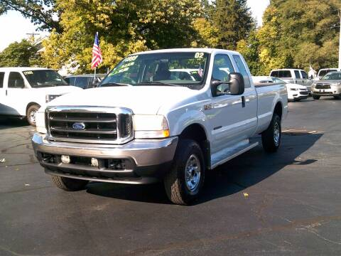 2002 Ford F-250 Super Duty for sale at Stoltz Motors in Troy OH