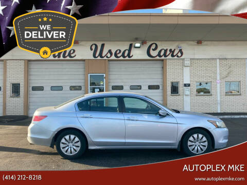 2009 Honda Accord for sale at Autoplexwest in Milwaukee WI