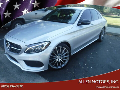 2018 Mercedes-Benz C-Class for sale at Allen Motors, Inc. in Thousand Oaks CA