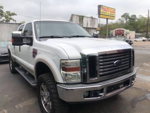 2009 Ford F-250 Super Duty for sale at 4 Girls Auto Sales in Houston TX