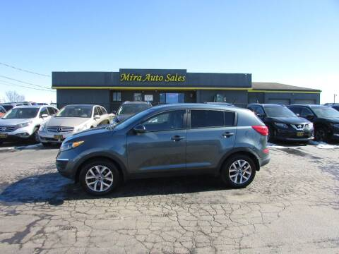 2014 Kia Sportage for sale at MIRA AUTO SALES in Cincinnati OH