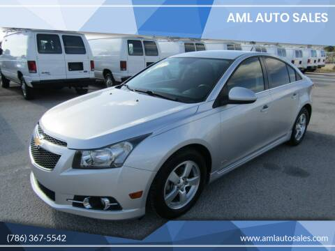 2013 Chevrolet Cruze for sale at AML AUTO SALES - Sedans/SUV's in Opa-Locka FL