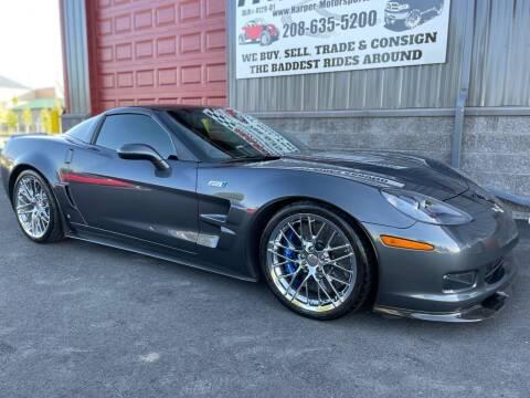2009 Chevrolet Corvette for sale at Harper Motorsports-Vehicles in Post Falls ID