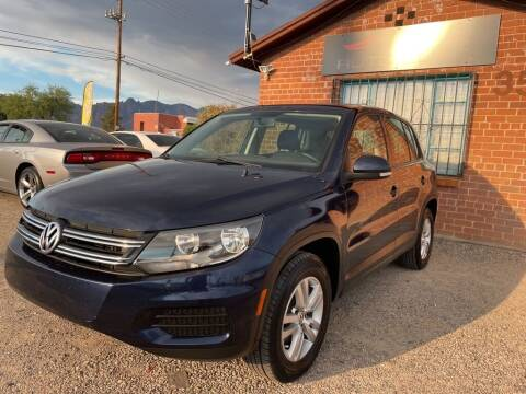 2012 Volkswagen Tiguan for sale at Auto Click in Tucson AZ