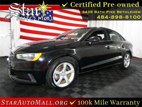 2015 Audi A3 for sale at STAR AUTO MALL 512 in Bethlehem PA