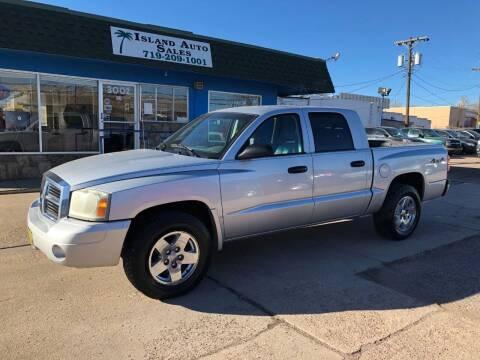 2006 Dodge Dakota for sale at Island Auto Sales in Colorado Springs CO