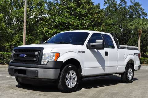 2013 Ford F-150 for sale at Vision Motors, Inc. in Winter Garden FL