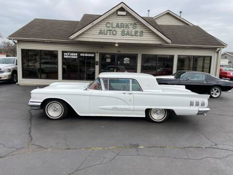 1960 Ford Thunderbird for sale at Clarks Auto Sales in Middletown OH