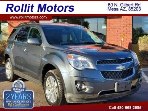 2011 Chevrolet Equinox for sale at Rollit Motors in Mesa AZ