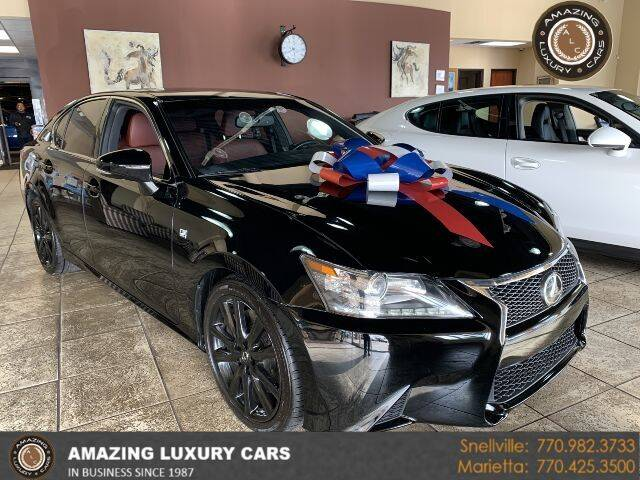 2015 Lexus GS 350 for sale at Amazing Luxury Cars in Snellville GA