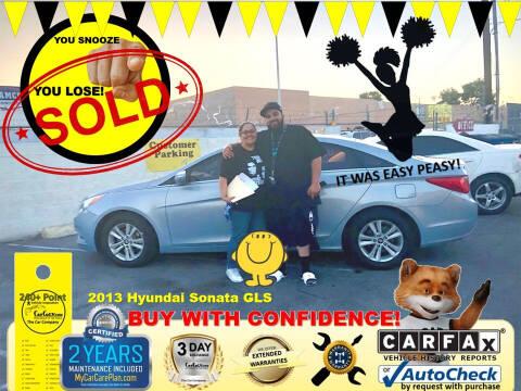2013 Hyundai Sonata for sale at The Car Company in Las Vegas NV
