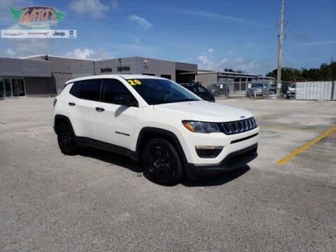 2020 Jeep Compass for sale at GATOR'S IMPORT SUPERSTORE in Melbourne FL