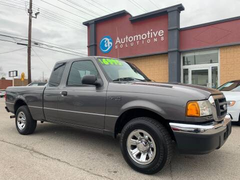 2004 Ford Ranger for sale at Automotive Solutions in Louisville KY