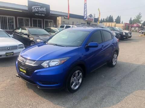 2018 Honda HR-V for sale at Tacoma Autos LLC in Tacoma WA