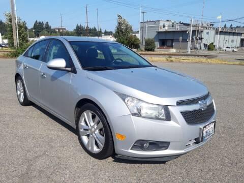 2013 Chevrolet Cruze for sale at South Tacoma Motors Inc in Tacoma WA