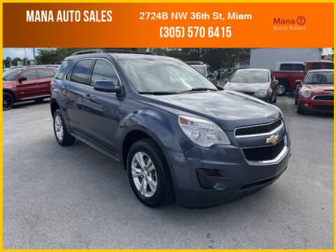 2014 Chevrolet Equinox for sale at MANA AUTO SALES in Miami FL