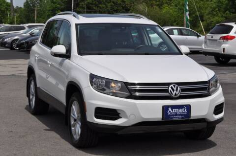 2017 Volkswagen Tiguan for sale at Amati Auto Group in Hooksett NH