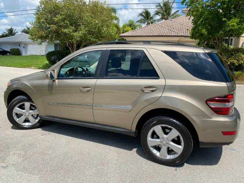 2009 Mercedes-Benz M-Class AWD ML 350 4MATIC 4dr SUV - Pompano Beach FL