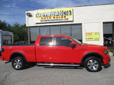 2011 Ford F-150 for sale at Metropolis Auto Sales in Pelham NH
