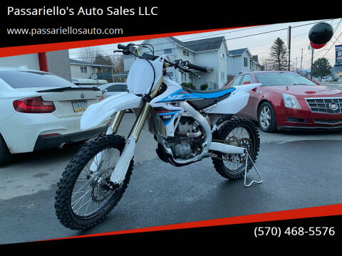 2019 Yamaha YZ250F for sale at Passariello's Auto Sales LLC in Old Forge PA
